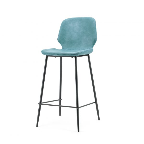 Bar chair Seashell high - blue 0896 By Boo